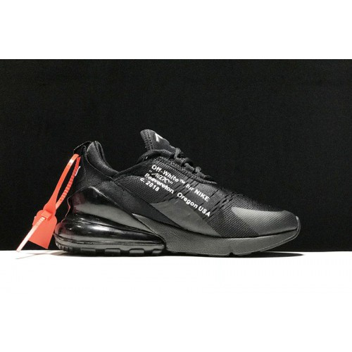 2018 off-white x nike air max 270 white-black collection