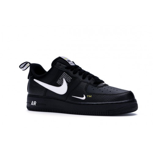 air force one low utility noir femme outlet