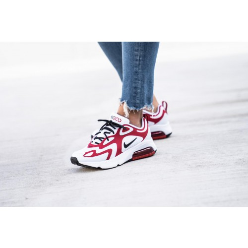 air max 200 rouge femme soldes