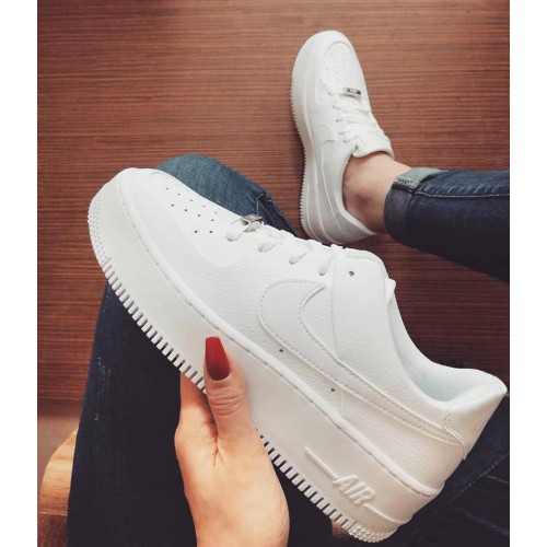 nike air force 1 sage low femme blanche boutique
