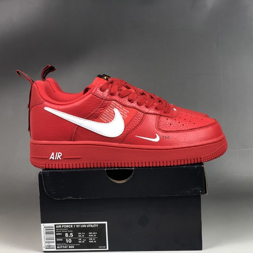 nike air force 1 utility rouge femme magasin