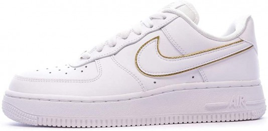 air force 1'07 essential femme blanche et or outlet
