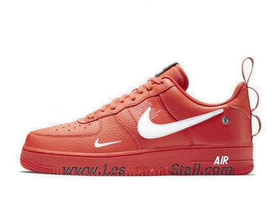air force 1 utility rouge femme collection