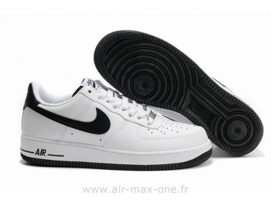 air force one blanche noir femme remise