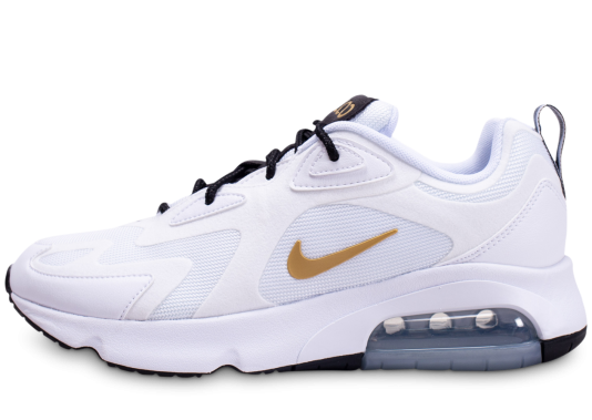 air max 200 femme blanche et or magasin
