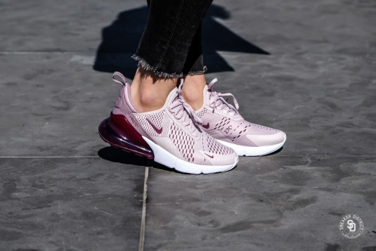 air max 270 femme barely rose collection