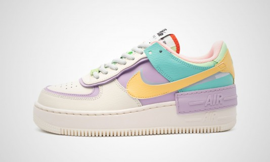 chaussure nike femme pastel remise