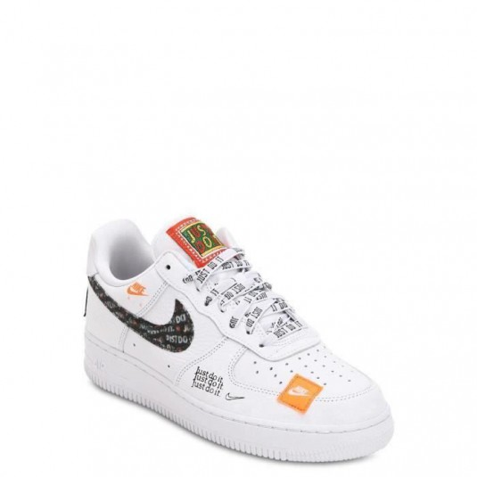 femme/homme nike air force 1 low just do it blanc boutique