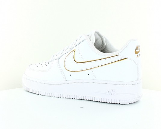 nike air force 1 07 femme blanche et or clearance