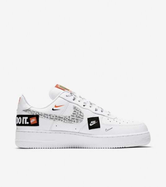 nike air force 1'07 just do it femme running