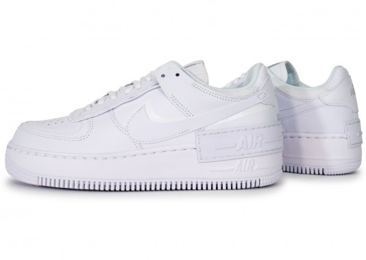 nike air force 1 femme shadow blanche solde