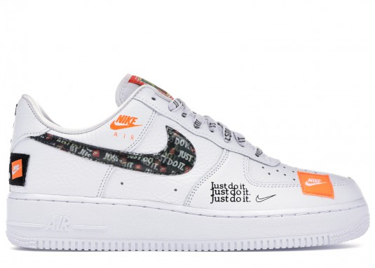 nike air force 1 just do it white femme online