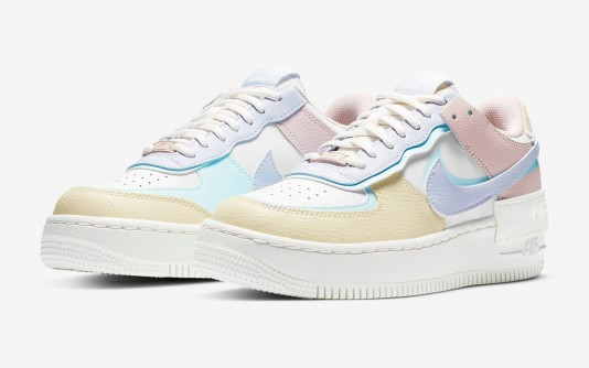 nike air force 1 shadow femme couleur pastel remise
