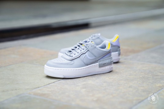 nike air force 1 shadow femme grise collection