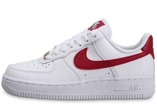 nike air force blanche et rouge femme running