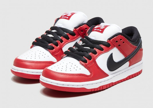 nike sb dunk low j-pack chicago release date collection
